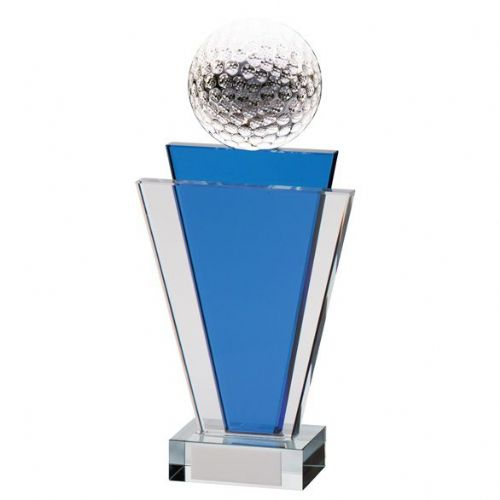 Gauntlet Golf Crystal Award 200mm